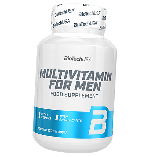 Multivitamin for men от BioTech 60 таб