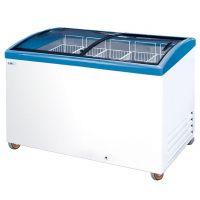 Ларь морозильный Italfrost с прямым стеклом CF400C