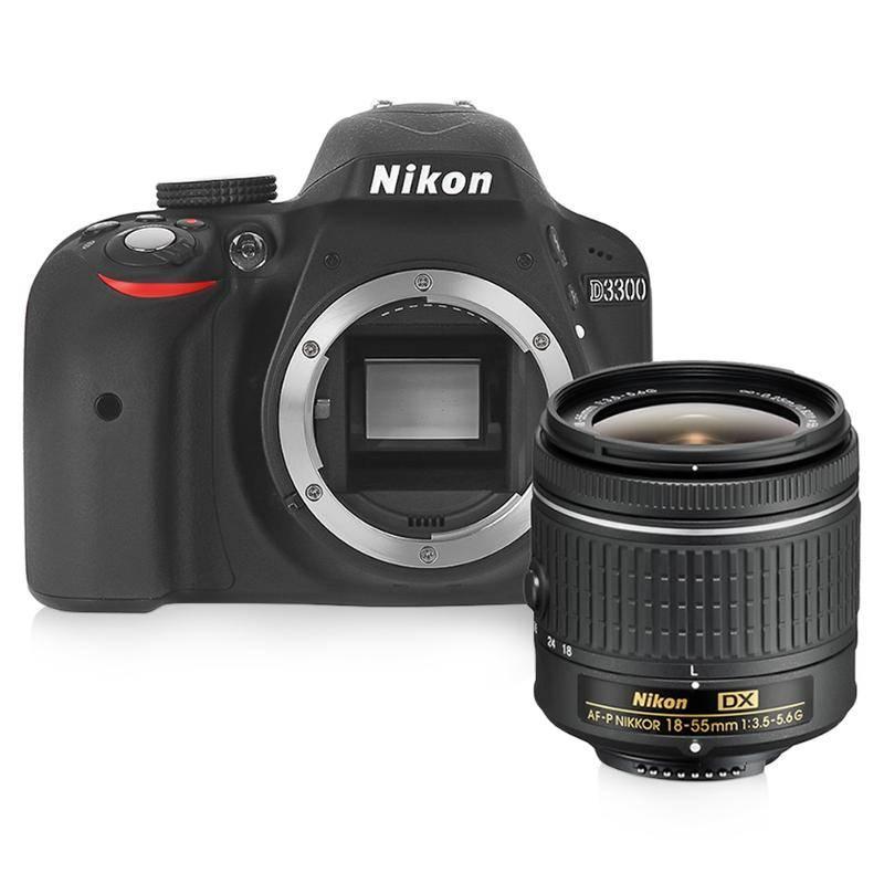 Nikon D3300 kit 18-55 mm vr II