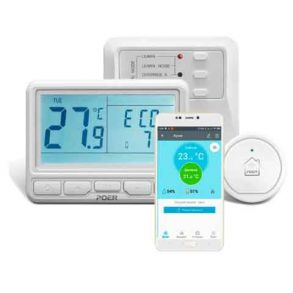Беспроводной WiFi недельный терморегулятор Poer Smart 10
