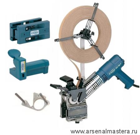 Комплект кромкооблицовочный для обработки деталей с четвертью 1,5кВт, макс.ширина облицовки 40,5 мм при толщине кромки 1 мм  AG98F/AU93/ RC21E VIRUTEX  AG98ES 5200388