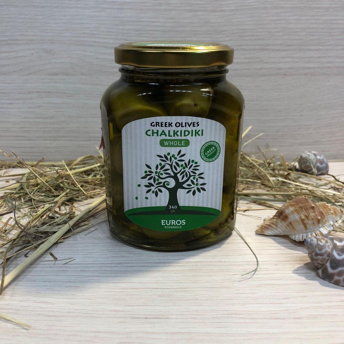 Оливки ХАЛКИДИКИ в оливковом масле Extra Virgin