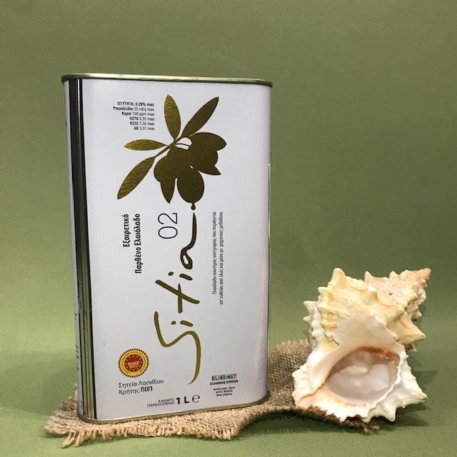 SITIA 0,2% GOLD Масло оливковое EXTRA VIRGIN 1 л