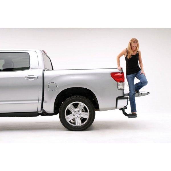 Подножка AMP выдвижная механическая Toyota Tundra
