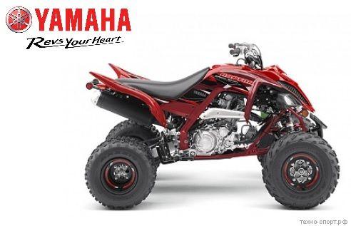 Квадроцикл Yamaha Raptor YFM 700R SE 2019 красный
