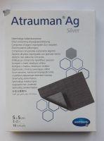 Серебросодержащая  повязка Atrauman Ag 5х5 см.