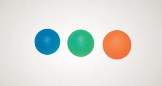 Мяч для тренировки кисти, круглой формы