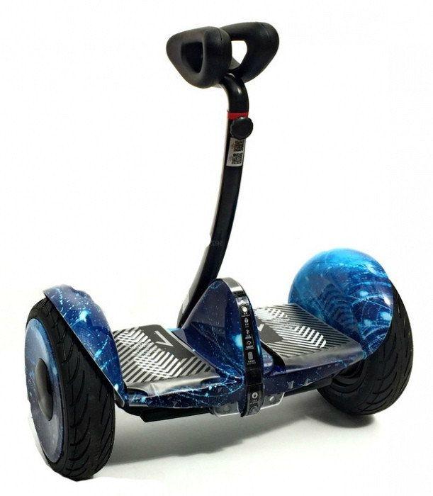 Мини-Сигвей Mini Robot 36v Синий огонь