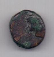 Обол 155-125 до н. э. Перисад IV Пантикапей Боспор