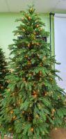 Искусственная елка Коттеджная 230 см 504 лампы зеленая