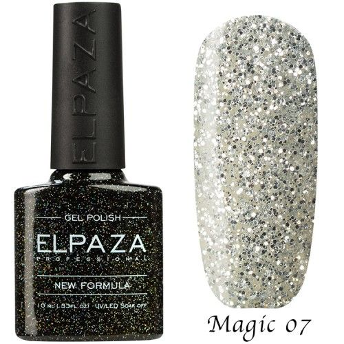 Гель лак ELPAZA MAGIC GLITTER 10 мл  АФИНА 07