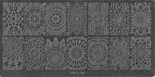 Стемпинг плитка высшее качество  VINS 06