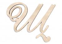 Деревянная буква Щ