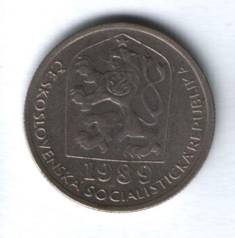 50 геллеров 1989 года Чехословакия