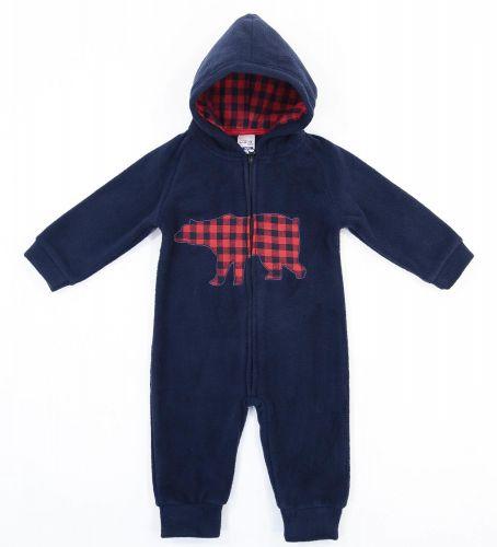 """Флисовый комбинезон для новорожденных Bonito kids """"медвежонок"""""""