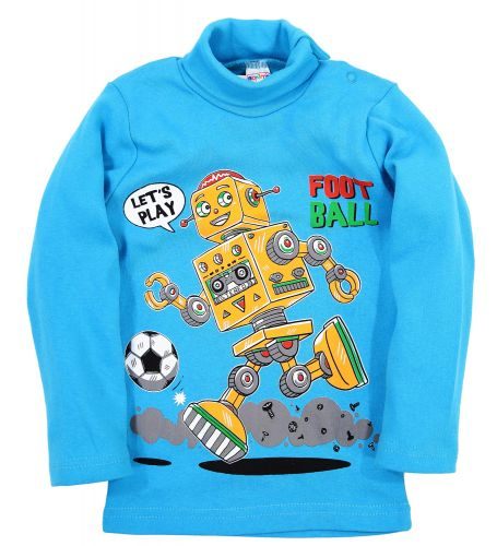 "Водолазка для мальчика Bonito kids ""Robot"" 1-4 года"