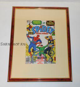 Автограф: Стэн Ли. На комиксе Человек Паук 1979 года. Редкость