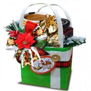 Подарочный набор 'Сумочка деда Мороза'