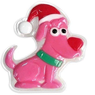 Liss Kroully Skin Juice Подарочное мыло туалетное фигурное Розовая собака с красным носом