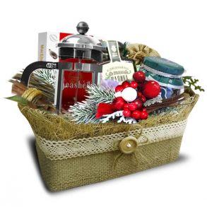 Подарочный набор «Туесок ягодное лукошко»