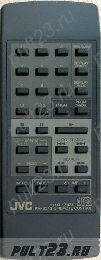 JVC RM-SX431U, XL-Z431