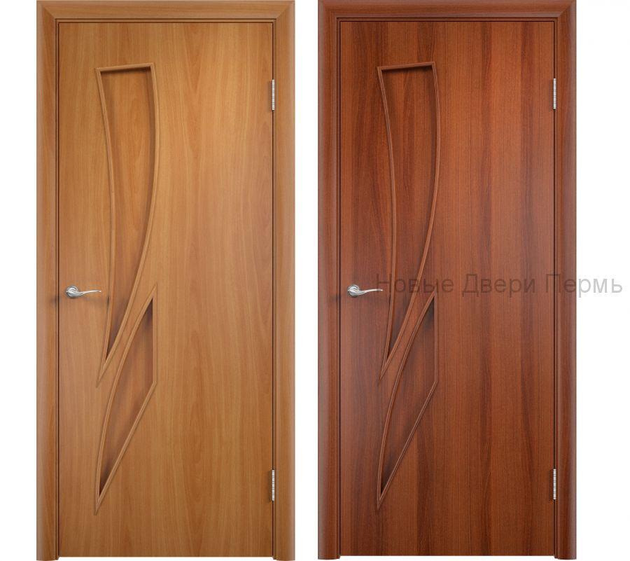 """""""С-2 Камея"""" ДГ ламинированная дверь без стекла"""