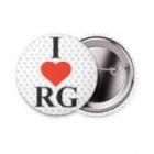 "Значок ""I love RG"" VerbaSport"