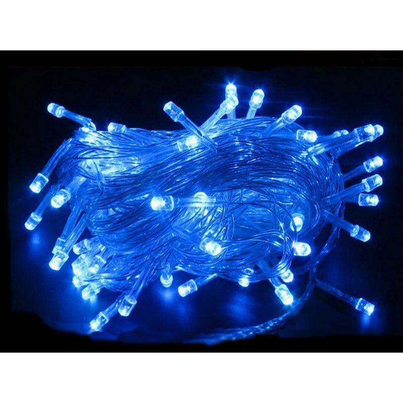 Светодиодная Гирлянда, 100 LED 8.5 м, Цвет Синий