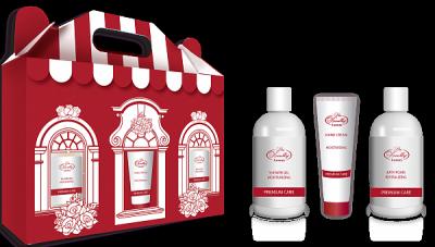 Liss Kroully Luxury Парфюмерно-косметический подарочный набор ST-1904 Крем для рук увлажняющий 75 мл + Гель для душа увлажняющий 300 мл + Пена для ванн увлажняющая 300 мл