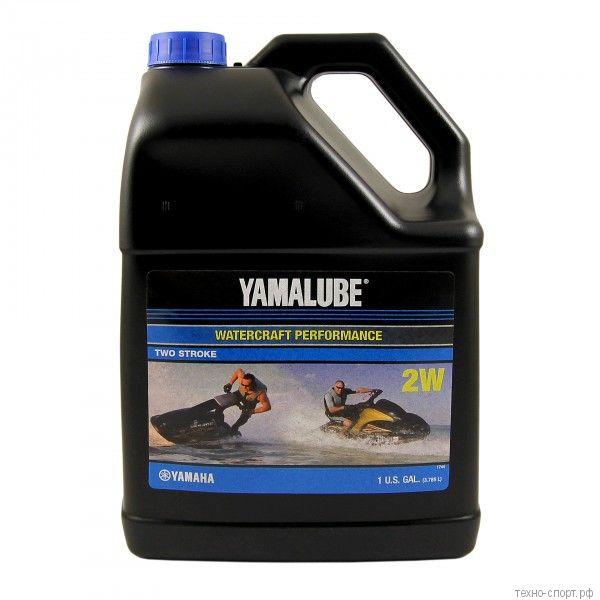 Yamalube 2W, 2Т, полусинтетическое для гидроциклов (3,78 л)