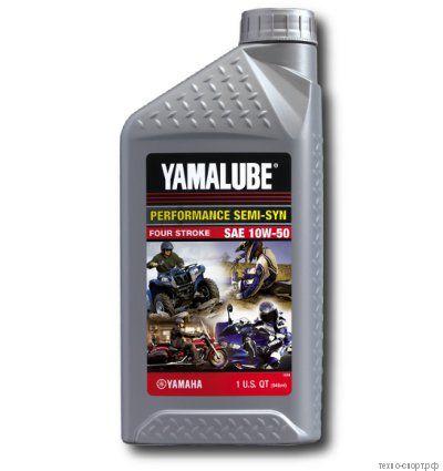 Yamalube 10W-50, 4-тактное полусинтетическое (0,946 л)