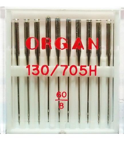 Иглы ORGAN стандартные №60 (10 шт.)