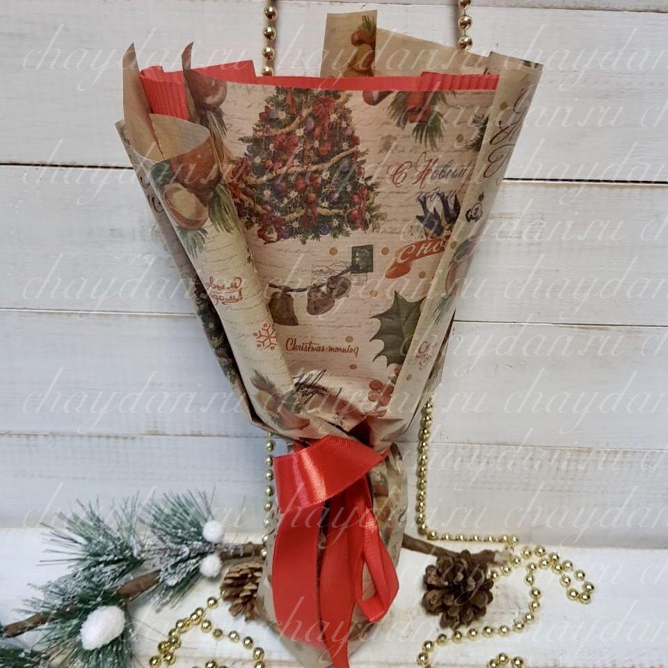 """Букет из чая """"Новогоднее настроение"""""""