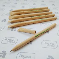 крафтовые ручки с логотипом на заказ