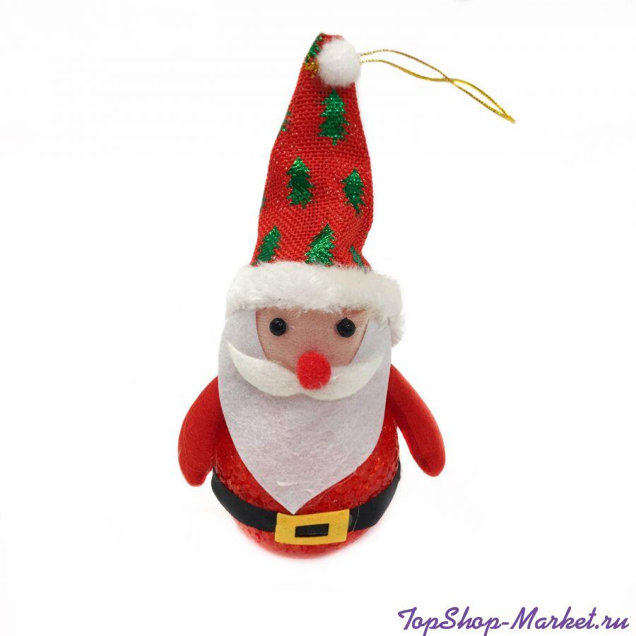 Светящаяся фигурка Деда Мороза, 17 см