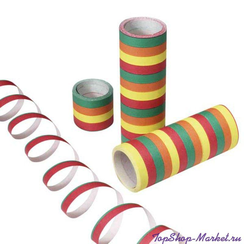 Разноцветный серпантин Serpetines