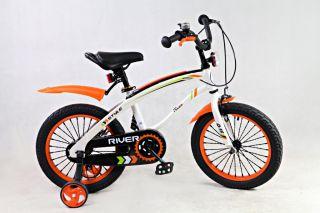 Детский велосипед RIVERBIKE-Q-16-ORANGE