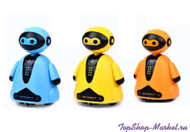 Индуктивная игрушка Робот с LED сенсором, Цвет: Желтый