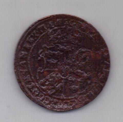 1 оре (эре) 1628 года Грифон Швеция