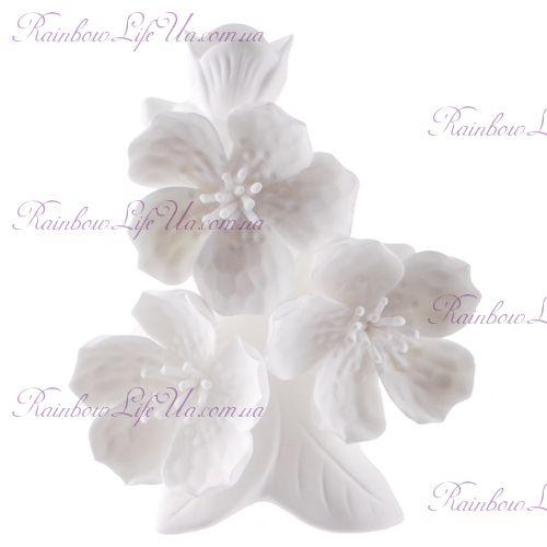 "Ваза белая Вишневый цветок ""Philippines"""