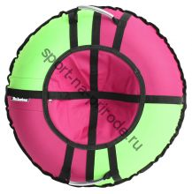 Тюбинг Hubster Хайп розовый-салатовый 110 см