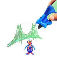 3D Ручка Creative Drawing Pen, Цвет Зеленый