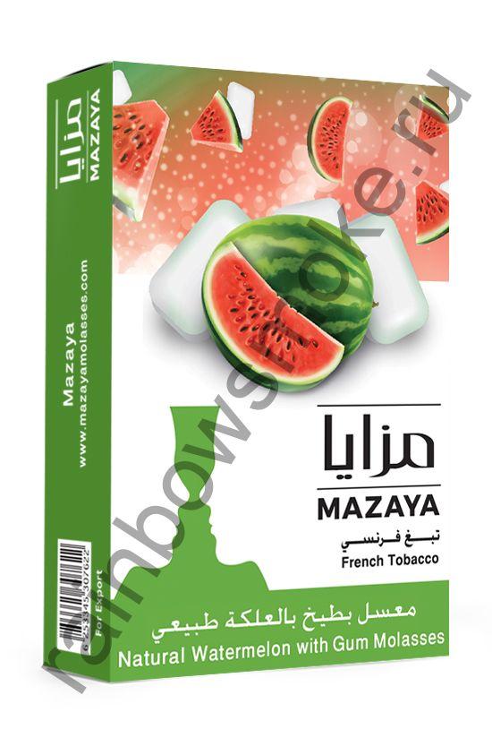 Mazaya 50 гр - Watermelon with Gum (Арбуз с Жвачкой)