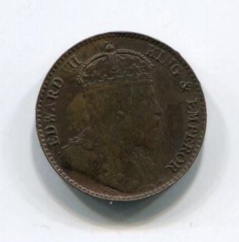 1/4 цента 1904 года Цейлон
