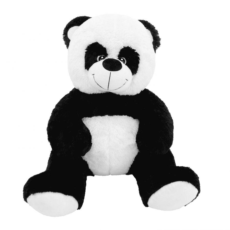Мишка Панда Кузя (ОР-100см)(Д-80см) Черно-белый