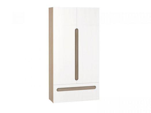 Шкаф 2х створчатый с ящиком