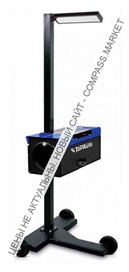 Прибор контроля и регулировки света фар с наводчиком