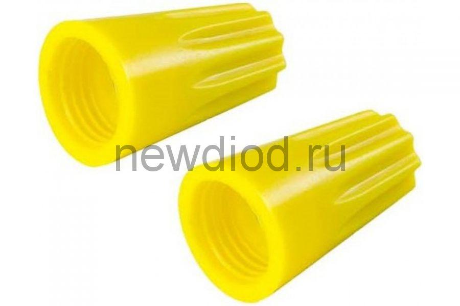 Колпачок СИЗ-4 желтый 3.5-11.0 (100шт./упаковка) IN HOME