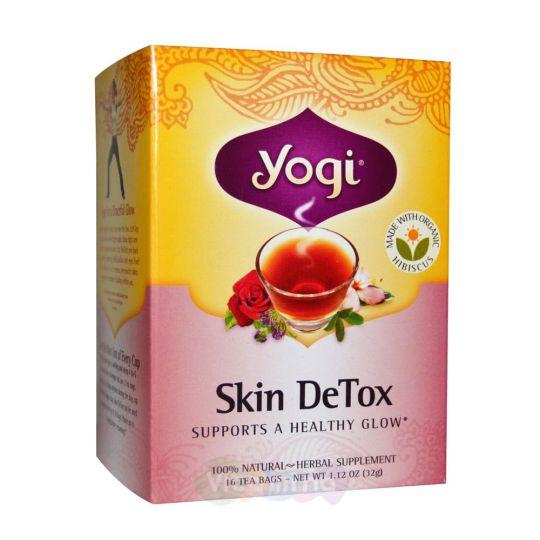 Yogi Tea Чай для Очищения Кожи Skin DeTox, 16 пакетиков