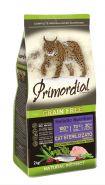 Primordial Grain Free Cat Sterilizzato Сухой корм для стерилизованных кошек, с индейкой и сельдью. 400г